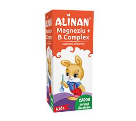 Alinan B Complex + Mg Kids Sirop 150ml (fiterm)