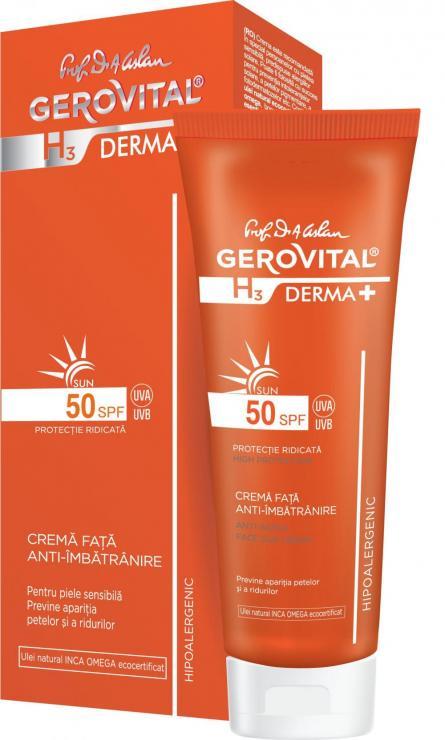 Gerovital H3 D+ Sun Cr antiimbatr SPF50 50ml4633
