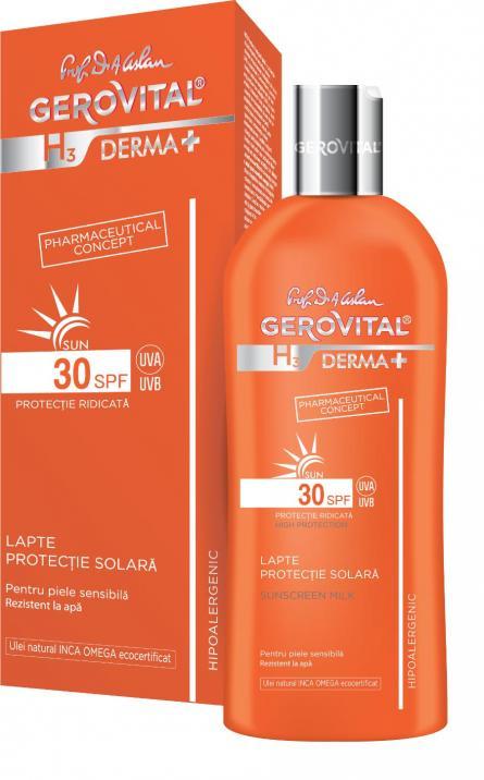 Gerovital H3 D+ Sun Lapte SPF30 x 200m 4631