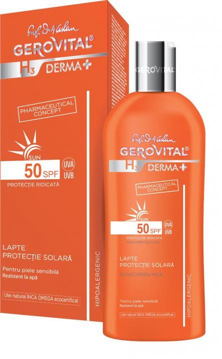 Gerovital H3 D+ Sun Lapte SPF50 x 200ml 4632