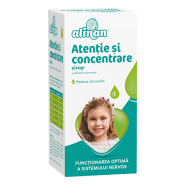 Alinan Atentie si concentrare sirop x 150ml (Fiterman)