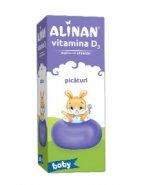 Alinan Vitamina D3 picaturi x 10ml (Fierman)