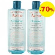 AVENE Cleanance apa micel x400ml 1+1-70%