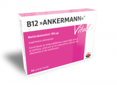 B12 Ankermann Vital x 50cpr (WorwagPharma)