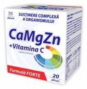 Ca+Mg+Zn+Vit C FORTE x 20pl (Zdrovit)