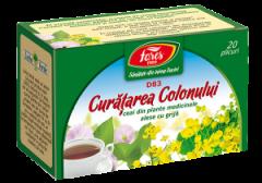 Ceai curatarea colonului x 20dz (Fares)