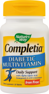 Completia Diabetic x 30cpr (Secom Natures Way)