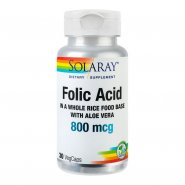 Folic acid 800mcg x 30cps (Solaray)