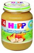 HIPP Mere, banane si piersici x 125g
