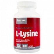 L-Lysine 500mg x 100cps (Jarrow)