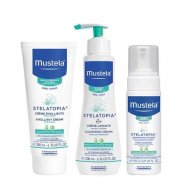 Mustela Stelatopia cr emol 200ml+cr curatat 200ml+sampon 150ml