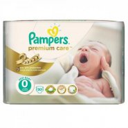 Pampers 0 Premium Care 2.5kg x30buc