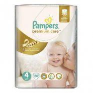 Pampers 4 Premium Care (8-14kg) x 20buc