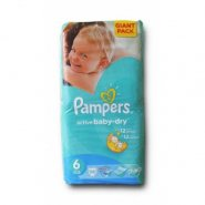 Pampers 6 Baby Extra LG  x 56 buc