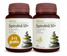 Spirulina 50+ x 30cp+30cp grat (Alevia)