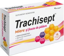 Trachisept miere+ fr pad x 16cp