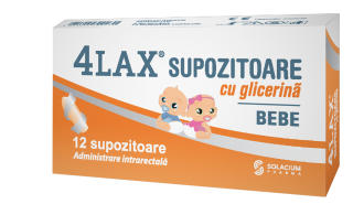 4Lax Bebe supozitoare sugari x 12sup