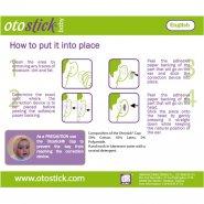 Otostick bebe corector urechi sil x 8buc