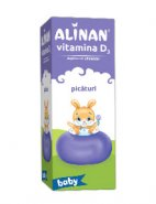 Alinan Vitamina D3 picaturi x 10ml (Fierman)